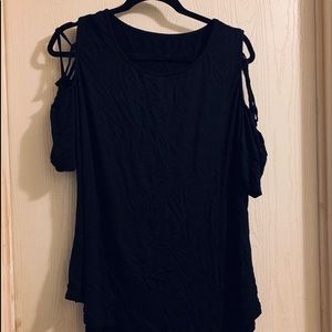 Amelia James Cold Shoulder Shirt